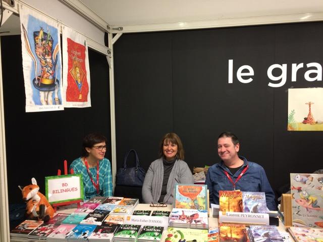 Dana Monceau, Maria-Esther d'Anjou et Laurent Peyronnet
