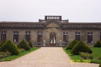 La facade du chateau